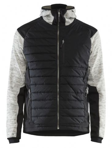 Blaklader 5930 Padded Hybrid Jacket (Grey Melange / Black)